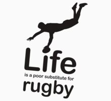 Rugby v Life - Marble Kids Clothes
