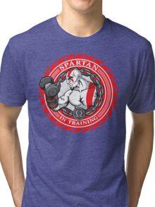 Spartan in Training Tri-blend T-Shirt