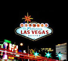 Welcome to Las Fabulous Vegas Sign iPhone cover by jlerner