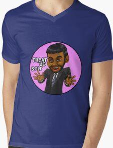 Tom Haverford Parks and Recreation Mens V-Neck T-Shirt