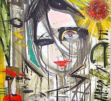 she me crow sunflower by arteology