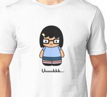 Hello uuhhh - white- Unisex T-Shirt