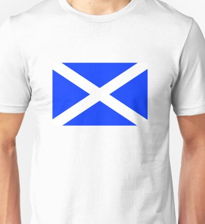 Scottish Flag Unisex T-Shirt