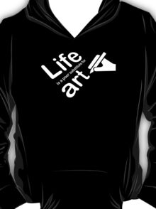 Art v Life - Carbon Fibre Finish T-Shirt