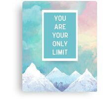 Your Only Limit Quote Canvas Print