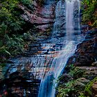 Empress Falls, Blue Mountains, New South Wales by Erik Schlogl