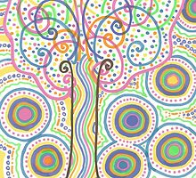 Groovy Tree of Life by shinyjill
