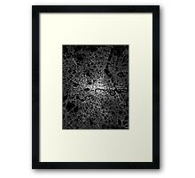 London map light Framed Print
