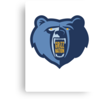 Grizz Nation Canvas Print