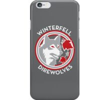 Winterfell Direwolves (Retro Variant) iPhone Case/Skin