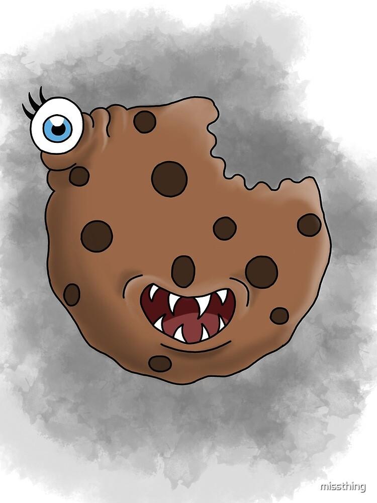 Freaky food item: Cookie by missthing