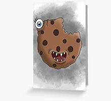 Freaky food item: Cookie Greeting Card