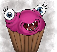 Freaky food item: Cupcake by missthing