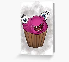 Freaky food item: Cupcake Greeting Card