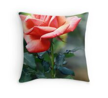 beautiful rose Throw Pillow