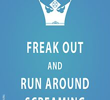 Freak Out and Run Around Screaming (Blu) by truthstreamnews