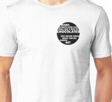 Forrest Gump - Mama Always Said... Unisex T-Shirt