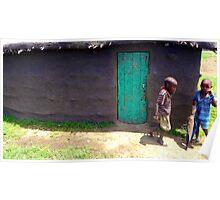 Masai Kids Poster