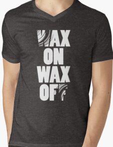 Karate Kid - Wax On Wax Off Mens V-Neck T-Shirt