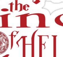 Crowley Patronus Sticker