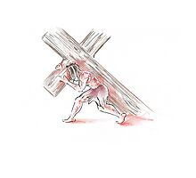 The Crucifixion Of Christ #4 Photographic Print