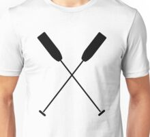Paddles Crossed / Dragonboat Unisex T-Shirt