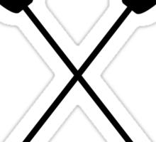 Paddles Crossed / Dragonboat Sticker