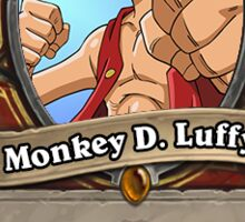 Luffy Hearthstone Sticker