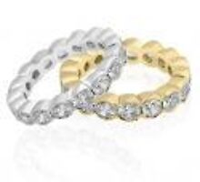 Eternity  bands and diamond wedding bands by weddingbands25