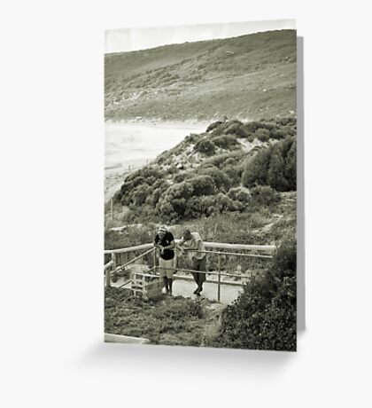 Western Australia Coastline Greeting Card