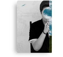 The only way out is through Canvas Print