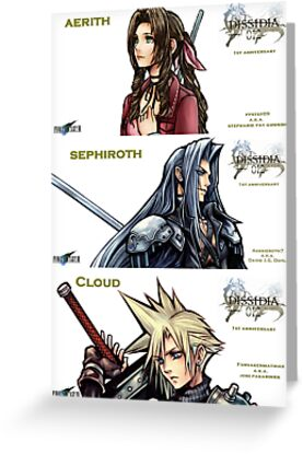 1ST ANNIVERSARY OF DISSIDIA 012 REPORTS 2 by FFSteF09