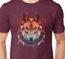 wolf red Unisex T-Shirt