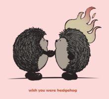Wish you were hedgehog Kids Tee