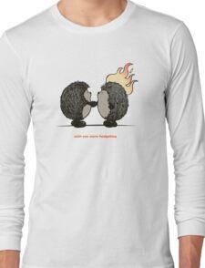 Wish you were hedgehog Long Sleeve T-Shirt