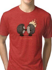 Wish you were hedgehog Tri-blend T-Shirt