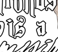 Benny Patronus Sticker