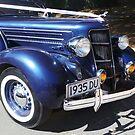 Old Wedding Car by Maureen Clark