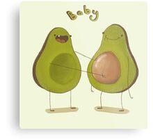 Avocado Baby Metal Print