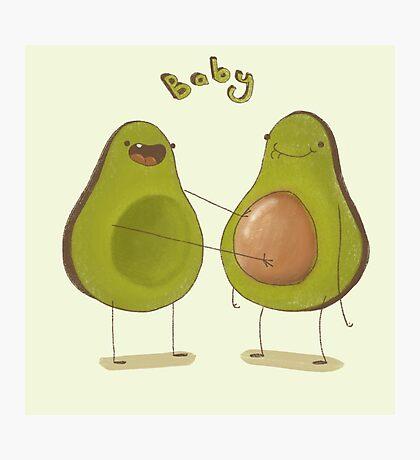 Avocado Baby Photographic Print