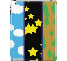 Clouds, Stars and Leaves iPad Case/Skin