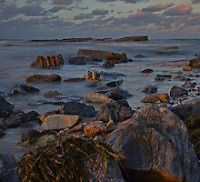 Dusk On Rocks by bazcelt