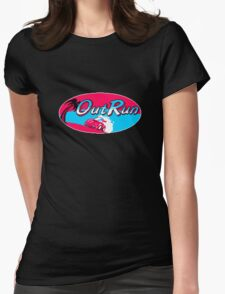 OutRun The 80s Womens Fitted T-Shirt