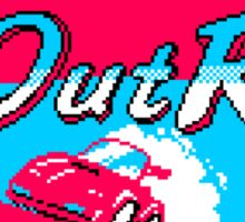 OutRun The 80s Sticker