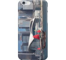 Hong Kong harbour by day with a sail boat iPhone Case/Skin