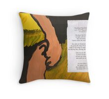 Hand that holds me Throw Pillow