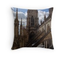 Medieval Minster Throw Pillow