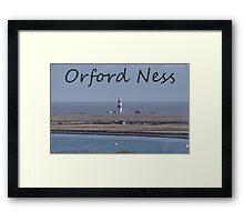 Orford Ness Framed Print