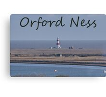 Orford Ness Canvas Print
