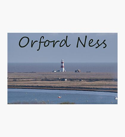 Orford Ness Photographic Print
